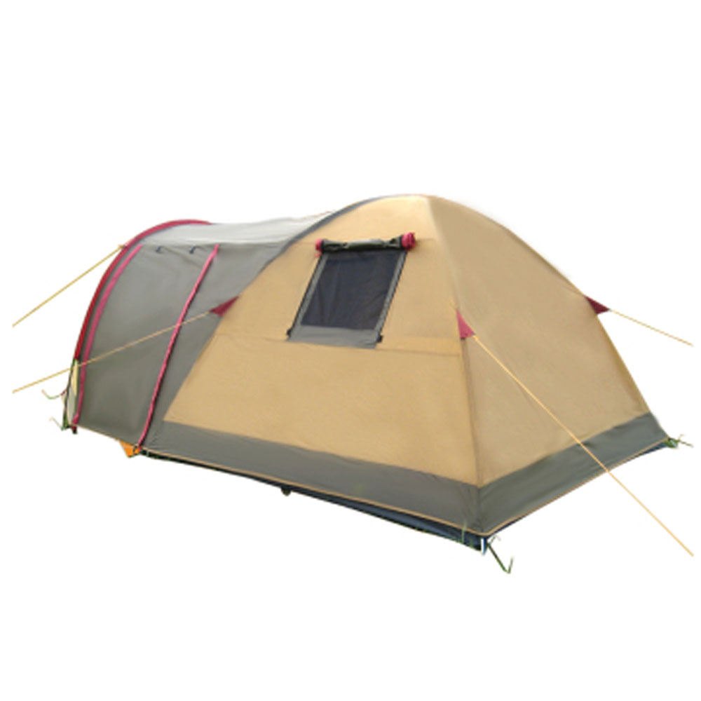 Bedroom Double Tent 3 4 People Outdoor Tent C&ing Section Against Strong Wind and Rain Tents-in Tents from Sports u0026 Entertainment on Aliexpress.com ...  sc 1 st  AliExpress.com & Bedroom Double Tent 3 4 People Outdoor Tent Camping Section ...