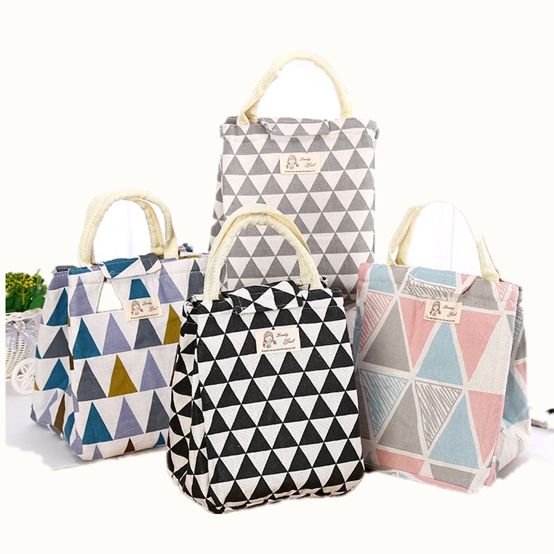 Fresh Insulated Lunch Bag Thermal Fashion Portable Tote Cooler Lunch Bag For Women  Kids Food Picnic Organizer Bag etya new portable lunch bag thermal insulated snack lunch box carry tote storage bag travel picnic food pouch for girls women