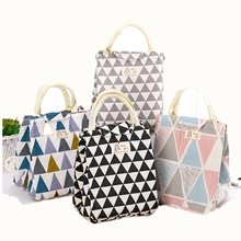 Fresh Insulated Women Lunch Bag Thermal Fashion Portable Tote Cooler Lunch Bag