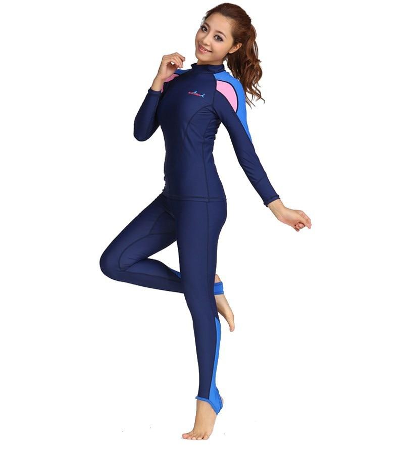 UV Protection solaire couverture complète du corps maillot de bain pour femmes ou hommes-SPF Protection deux pièces costume maillots de bain UPF50 +