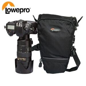 Image 1 - Lowepro topلودر 75AW المحمولة حقيبة مثلث topلودر 75 AW حقيبة كاميرا عدسة SLR حزمة حقيبة مع غطاء للمطر