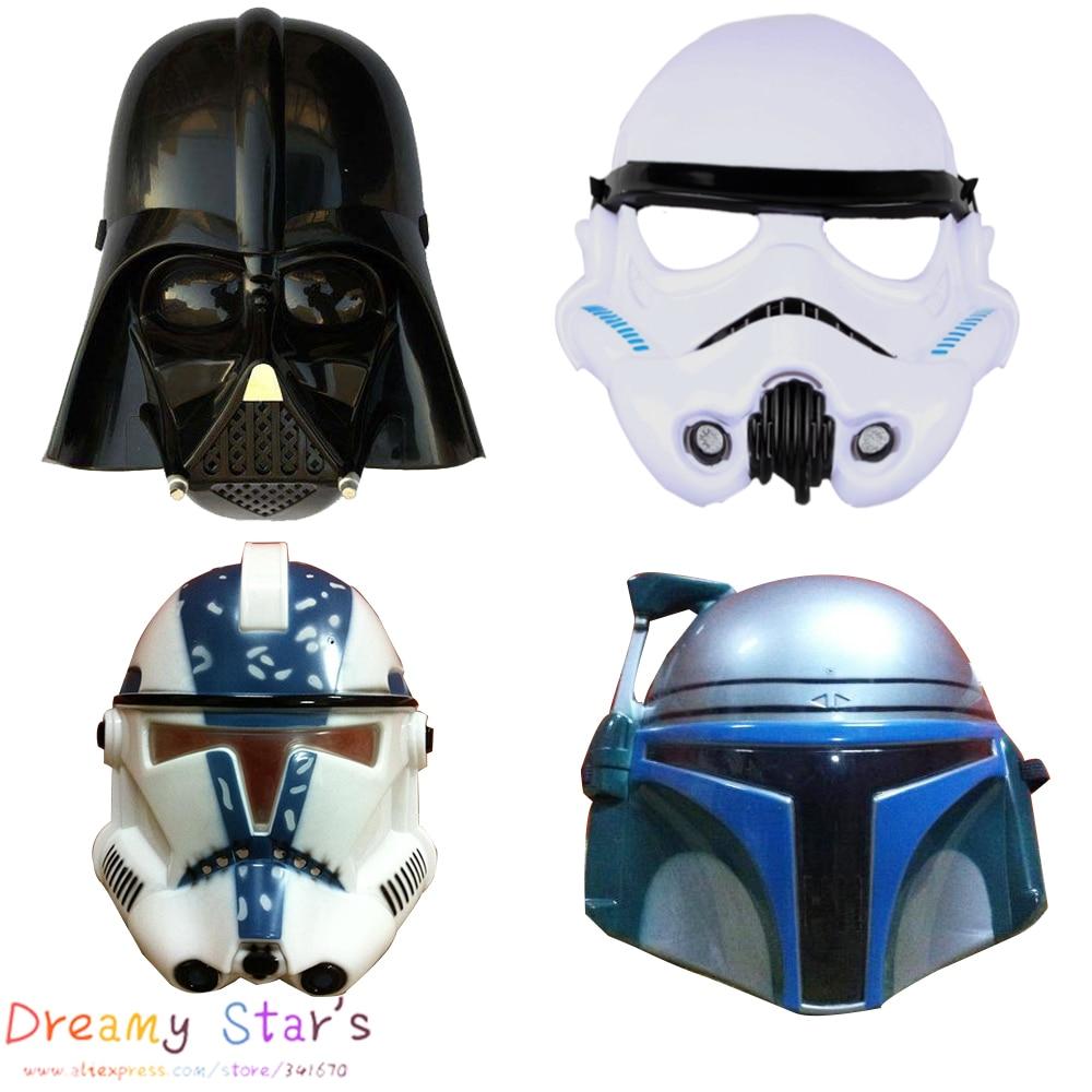 Star wars mask Darth Vader Empire Storm Clone trooper helmet black ...