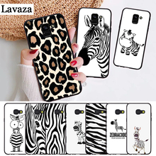 Lavaza Cartoon zebra stripe On Sale Silicone Case for Samsung A3 A5 A6 Plus A7 A8 A9 A10 A30 A40 A50 A70 J6 A10S A30S A50S