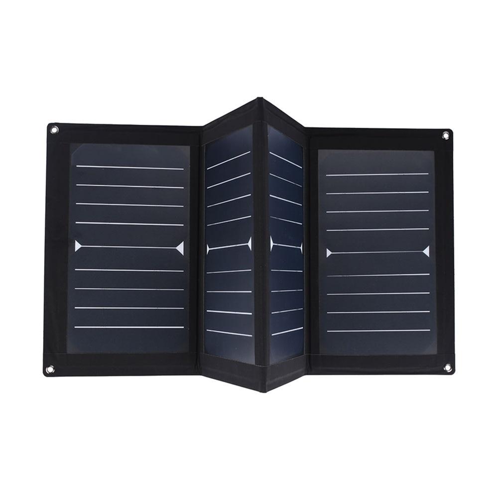 Cewaal High Efficiency 25W 5V Portable USB Solar Panel Folding Solar Pane Emergency Power Supply Portable Outdoor Solar panel