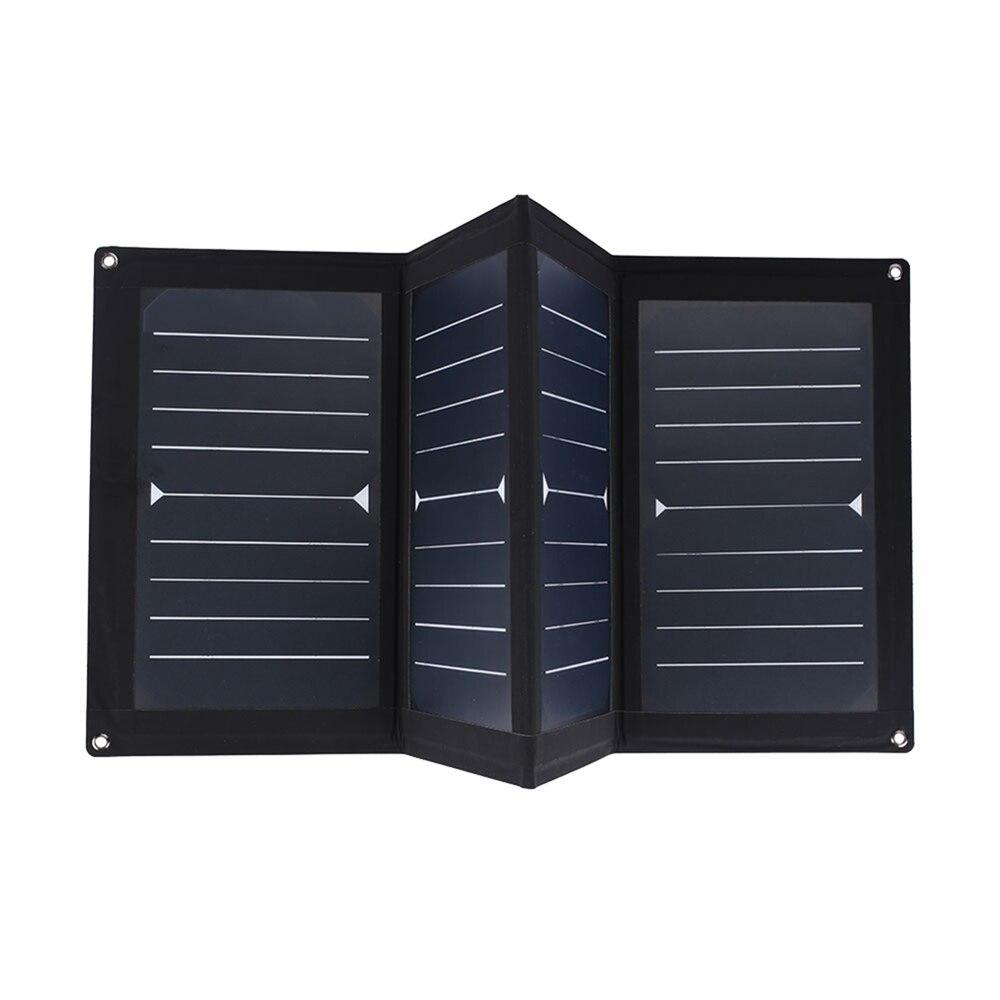 Cewaal haute efficacité 25 W 5 V Portable USB panneau solaire pliant panneau solaire alimentation de secours Portable panneau solaire extérieur
