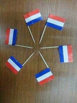 Мини 50 шт., голландские флаги для зубочисток, голландские пищевые палочки, CakeToothpicks, фрукт для кекса, Коктейльные Палочки, украшение, флаг зубочистки