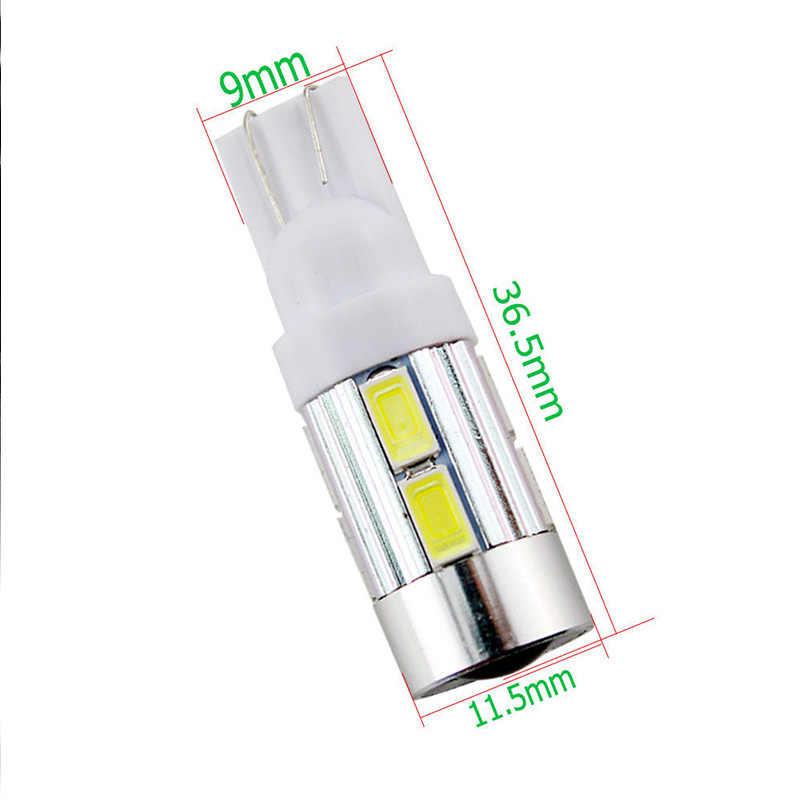 GZKAFOLEE, 1 Uds., LED W5W, lámpara de coche LED, 12V, bombillas con lente de proyector