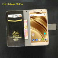 TOP New For Ulefone S8 Pro Case 5 Colors Luxury Leather Case Exclusive Phone Cover Credit