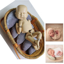New Newborn Photography Aid Props Moon Pillow Infant Photoshoot Accessories Crescent Posing Sofa Baskets Baby Photo