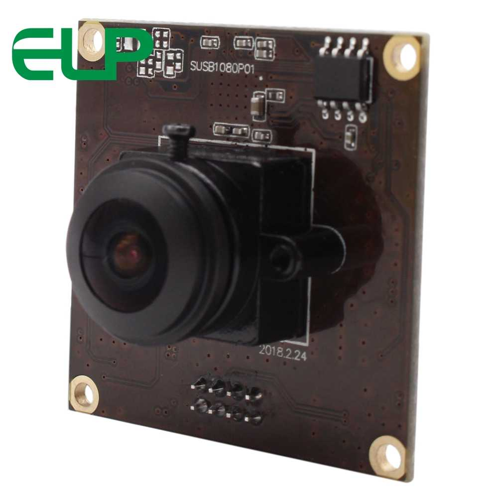 ELP M12 Fisheye Lens 180 degree 1/2 8 inch IMX291 Sensor Raspberry Pi  Security Module USB 3 0 Camera With OTG