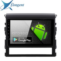 Fongent 10.2 IPS 1 Din Android 9.0 Unit Car Stereo for Toyota Land Cruiser 2016 GPS Navigation DSP HDMI Multimedia Player