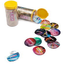Ultra thin Ice and Fire Dotted Natural Latex Double Lubricated
