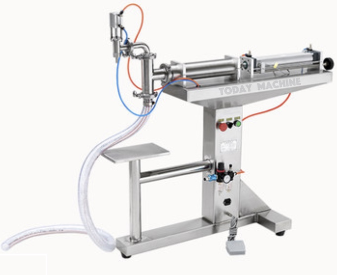 Liquid Beer Can Liquid Piston FillerHorizontal One Nozzle Piston Liquid Filling Machine/Liquid Filler zonesun pneumatic a02 new manual filling machine 5 50ml for cream shampoo cosmetic liquid filler