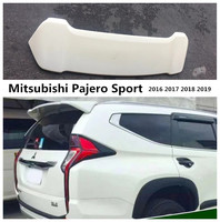 Auto Spoiler For Mitsubishi Pajero Sport 2016 2017 2018 2019 High quality ABS Wing Spoilers Car Accessories