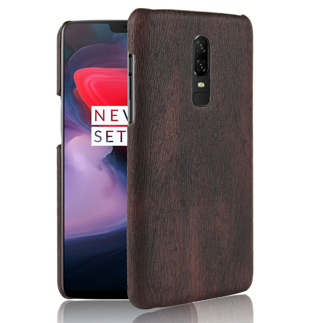 size 40 439a6 0d2f0 US $2.7 15% OFF| Vintage Cover Oneplus 6 Wood Grain Skin Leather Case For  OnePlus 6 Phone Case for One plus 6 Six Fundas Plastic Back Cover-in Fitted  ...