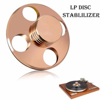 Music Hall LP Vinyl Turntables Metal Disc Stabilizer Record Weight Clamp HiFi