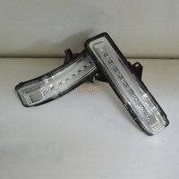 Июля король светодиодные фары зеркало заднего вида чехол для Suzuki Wagon R MH21 MH22 MH23 Япония Версия; боковые поворотники, DRL, землю лампы