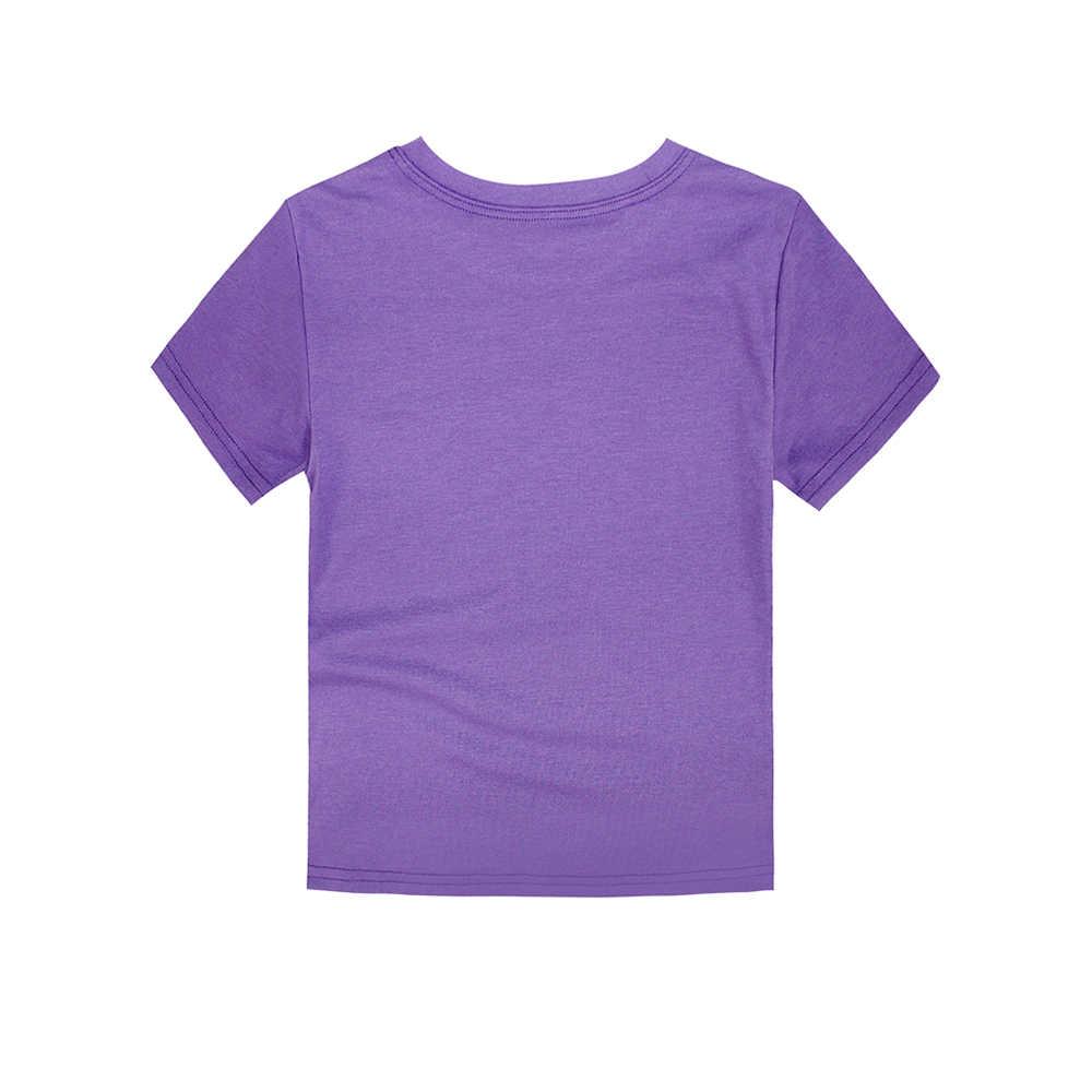 Nuevo Bebé niños niñas verano niños camisetas niños Navidad chispa camisetas niñas copo de nieve estampado camisetas verano top