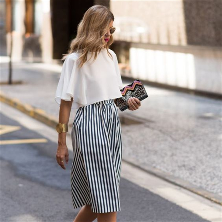 HTB1RRQgPVXXXXbxXpXXq6xXFXXXj - Long Skirts Women Loose Striped Skirt PTC 159