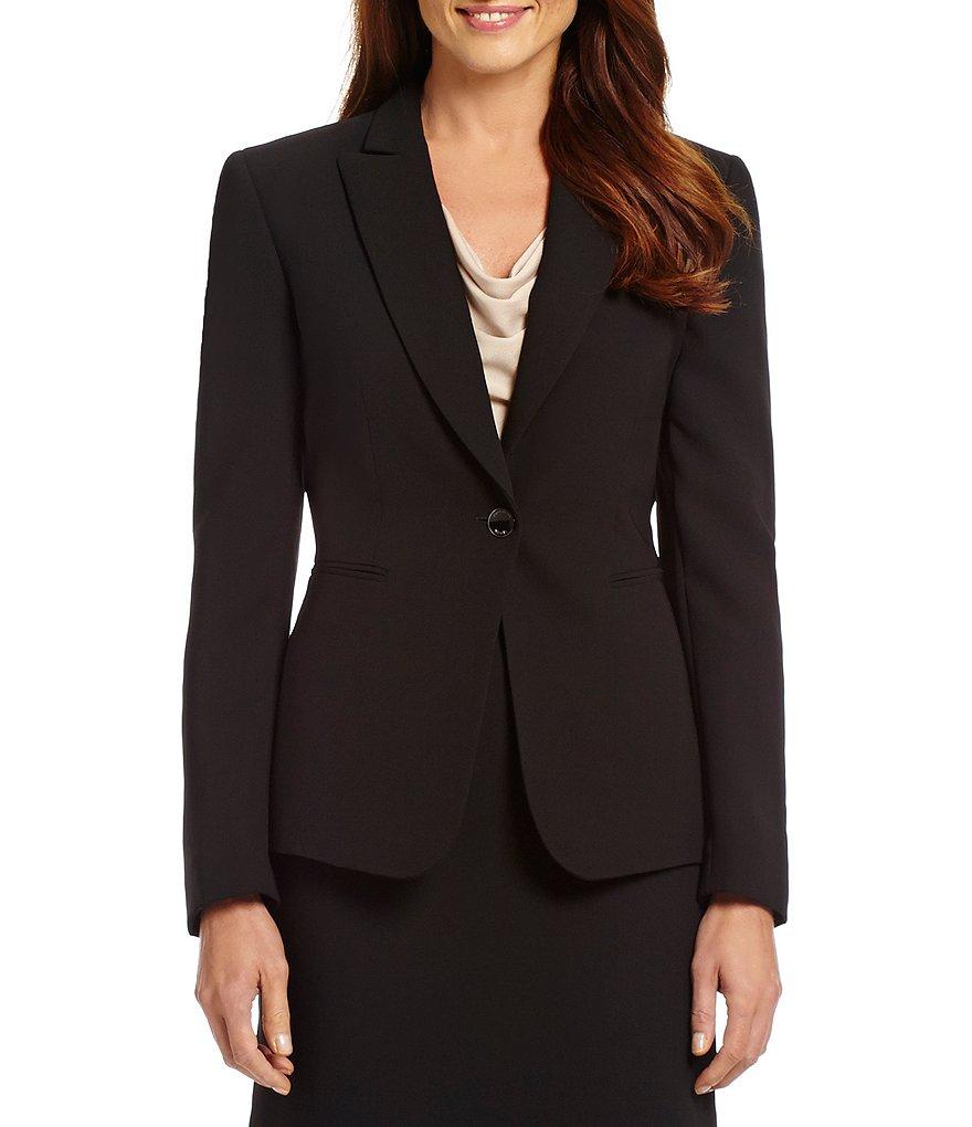 Formelle D'affaires W01 noir Costumes Femmes Chart De Vêtements Noir Costume Made Color Définit Pièce Custom Les 2 Veste jupe Robe Fn7gHFa