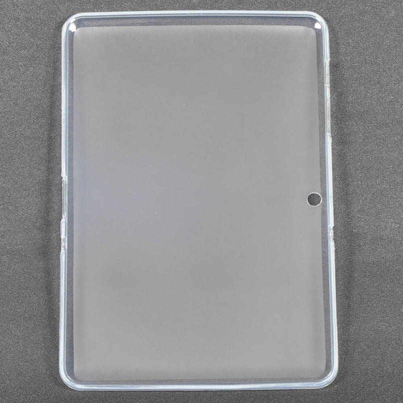 สำหรับ Samsung Galaxy Tab2 P5100 P5110 นุ่ม TPU สำหรับ 10.1 นิ้ว Samsung GT-P5100 P5110 แท็บเล็ต Shell + ของขวัญ