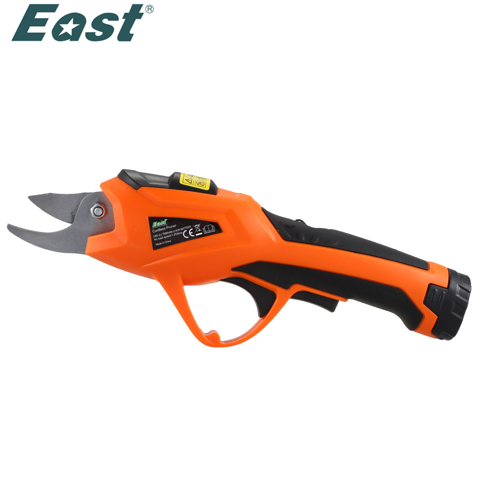 EAST ET1505 Power Tools 3.6V Li-ion Battery Cordless Secateurs Branch Cutter Electric Fruit Pruning Tool Shear to Ol Fruit