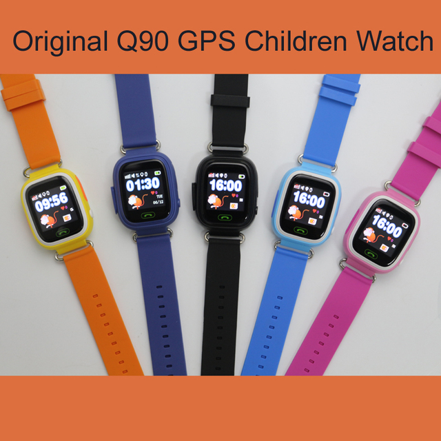 GPS Q90 WIFI Positioning kids Childre Smart baby Watch SOS Call Location Locator Tracker Kid Safe Anti Lost Monitor smart watch