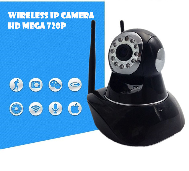 Wireless IP Camera  HD wifi sd card surveillance video recorder system Mega  Alarm Onvif FREE APP Network IR-CUT Night Vision