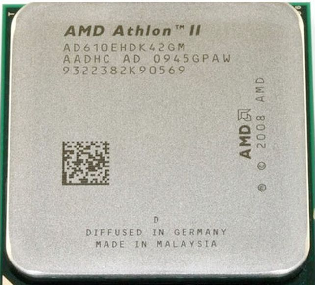 Free DeliveryAMD Athlon II X4 610e CPU/AM2+/AM3/45W TDP/Quad-Core Processor