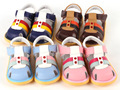 2014 summber New arrival child leather sandals boys girls kids soft slip-resistant outsole genuine leather sandals