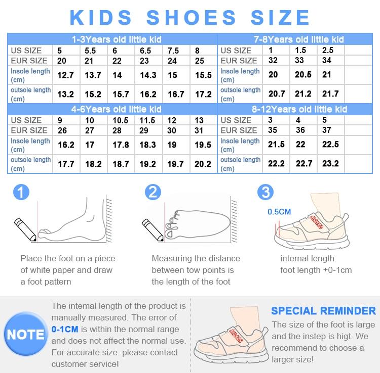 ABC enfants garçons mode sport chaussure décontracté course casual respirant Sneaker grandes chaussures pour enfants (acheter 1 obtenir 1 gratuit) - 6
