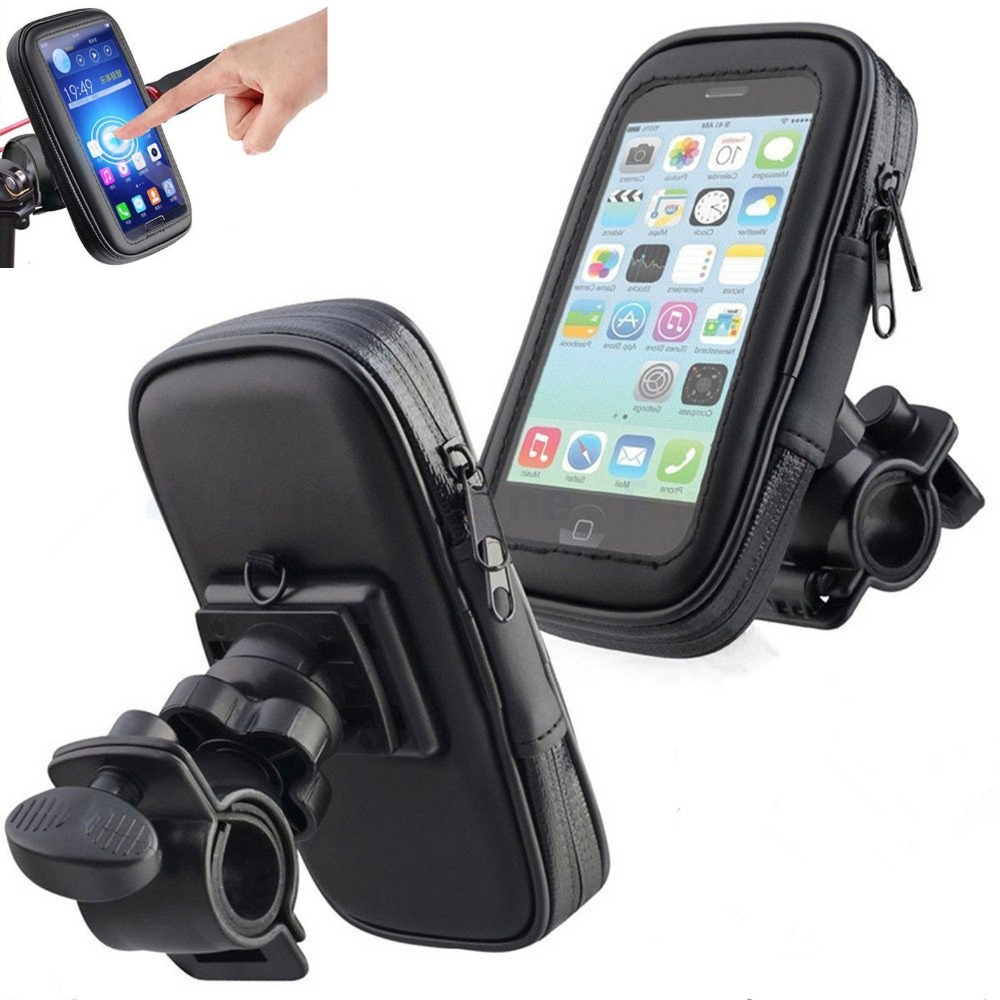 Image 2 - Untoom Bicycle Motorcycle Phone Holder Waterproof Bike Phone Case Bag for iPhone Xs Xr X 8 7 Samsung S9 S8 S7 Scooter Phone Case-in Phone Holders & Stands from Cellphones & Telecommunications
