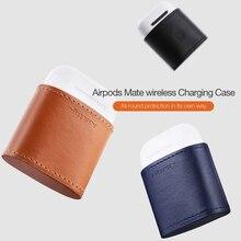 Nillkin AirPods 1 ケースバッグチーワイヤレス充電器プロテクター充電カバー