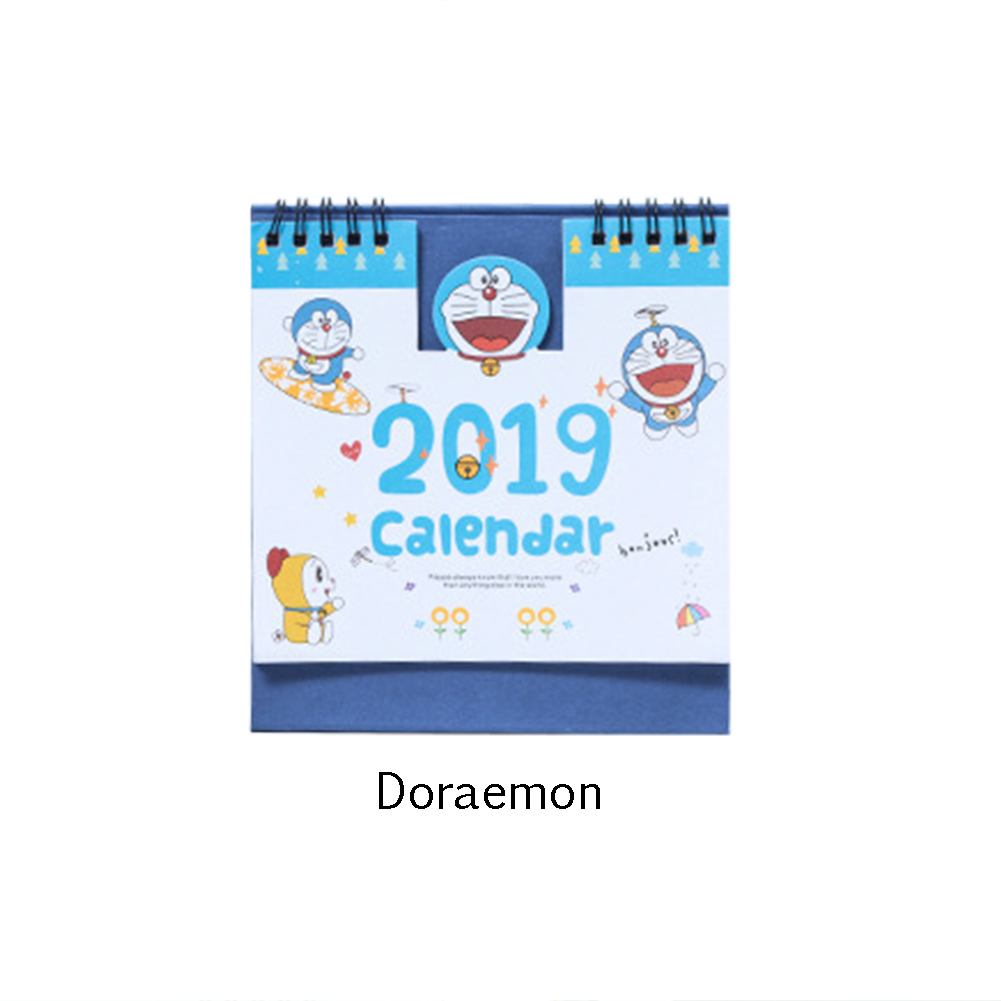 Calendars, Planners & Cards 1 Piece 15cm 2019 Cute Animal Calendar Office Stationery Desk Notebook Promotion Gift Girls Birthday Gift Carefully Selected Materials Calendar