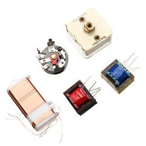 Image 4 - LEORY חדש 7 צינור AM רדיו אלקטרוני DIY ערכת אלקטרוני למידה ערכת סט