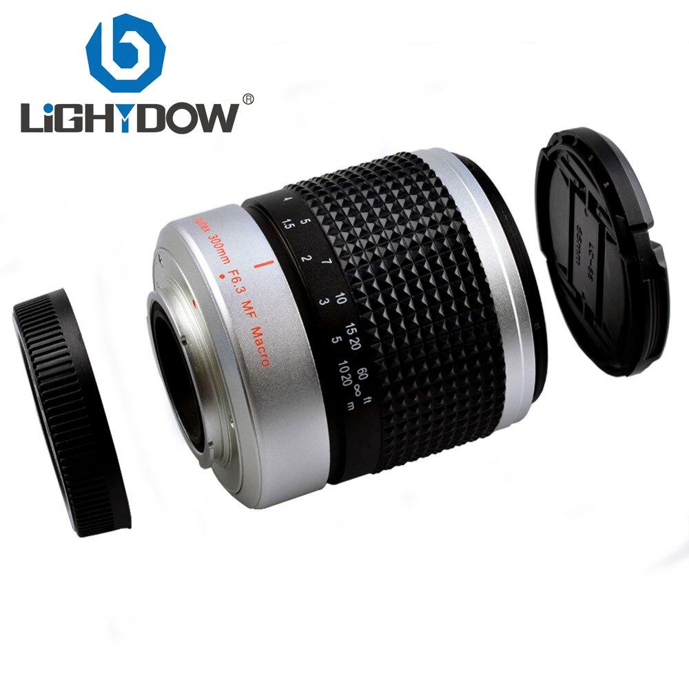300mm F6.3 Miroir téléobjectif Macro 4/3 Panasonic E-P3 E-PL3 E-PM1 E-P2 E-PL2 E-PL1 Olympus GF3 G2 GH2 Monture Sony E