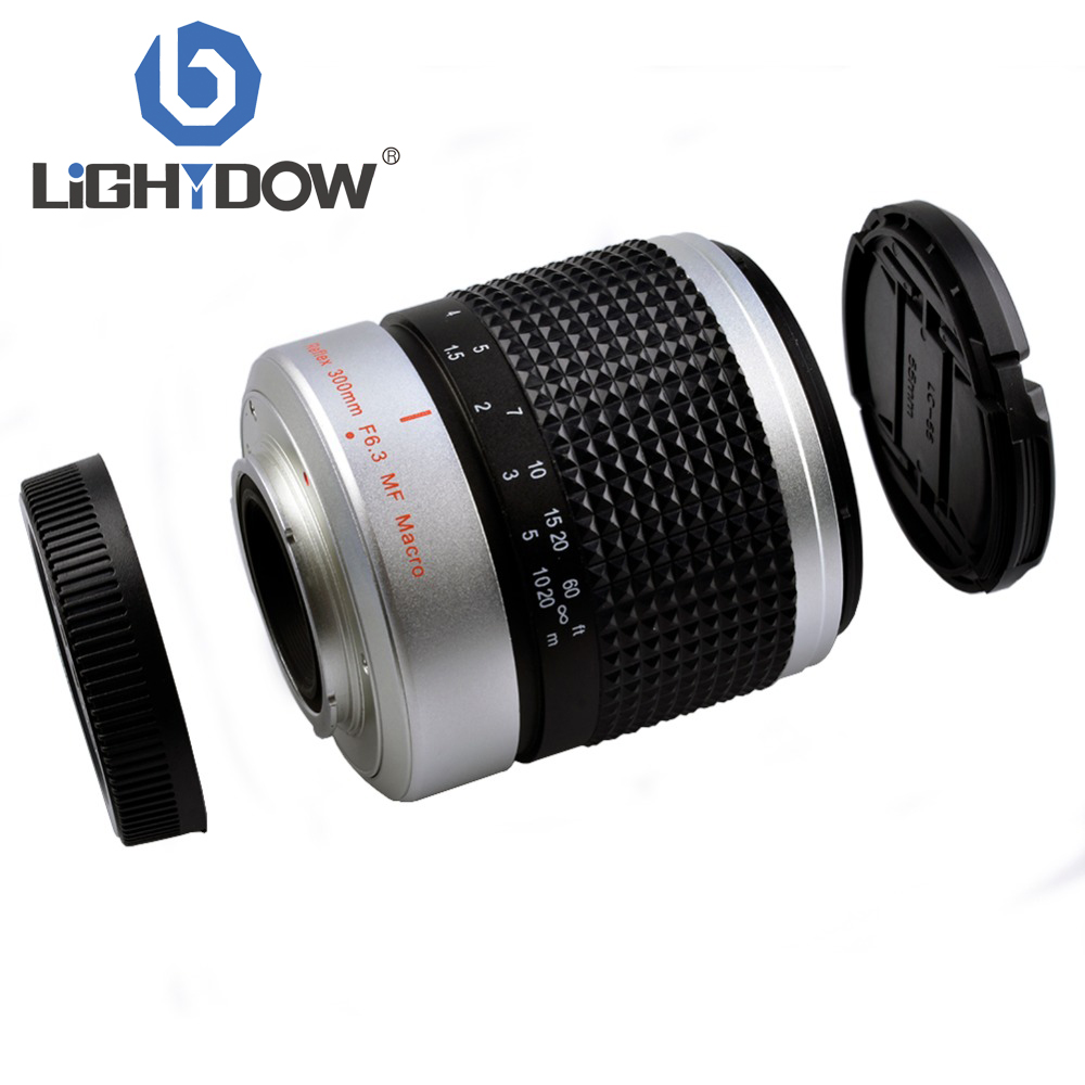300mm F6.3 Super Telephoto Mirror Lens for Panasonic Lumix DMC-GF3 DMC-G3 G6 GF6
