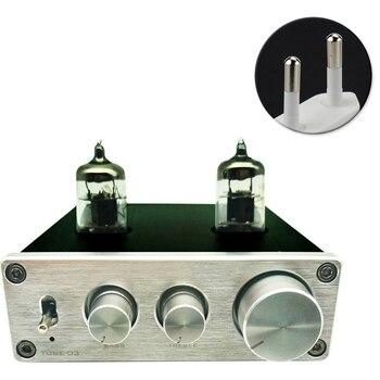 цена на HIFI Adjustable Universal Turntable RIAA Headphone Vacumn Home Phono Preamp Aluminium Pre Amplifier Mini 6K4 Tube