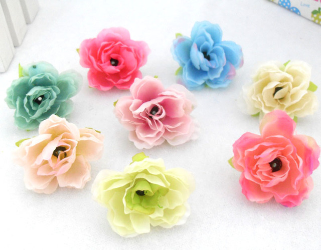 100 pieces lots artificial hibiscus cherry silk flowers heads 100 pieces lots artificial hibiscus cherry silk flowers heads garland diy wreath scrapbook wedding decoration b55 mightylinksfo