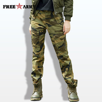 Autumn Camouflage Pants for Women Twill Cotton Casual Pants Female Military Army Pants Ladies Pants Winter Women Full Length