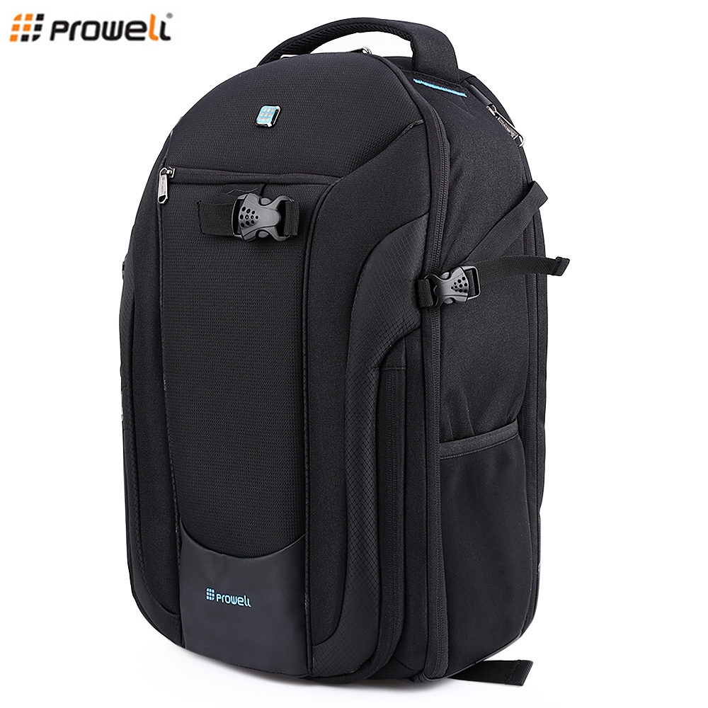 Motivated Prowell Dc21948 Dslr Camera Photography Backpack Camera Bag For Outdoor Traveling High Quality Goods Consumer Electronics Camera/video Bags