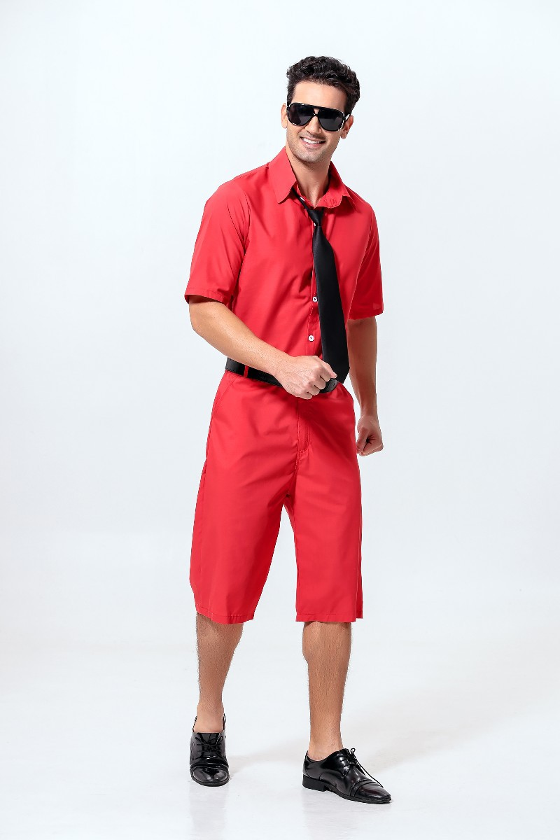 Halloween Cosplay Red Jazz Singer Stage Uniform Cosplay Costume Hallowmas Cos Costume Ma ...
