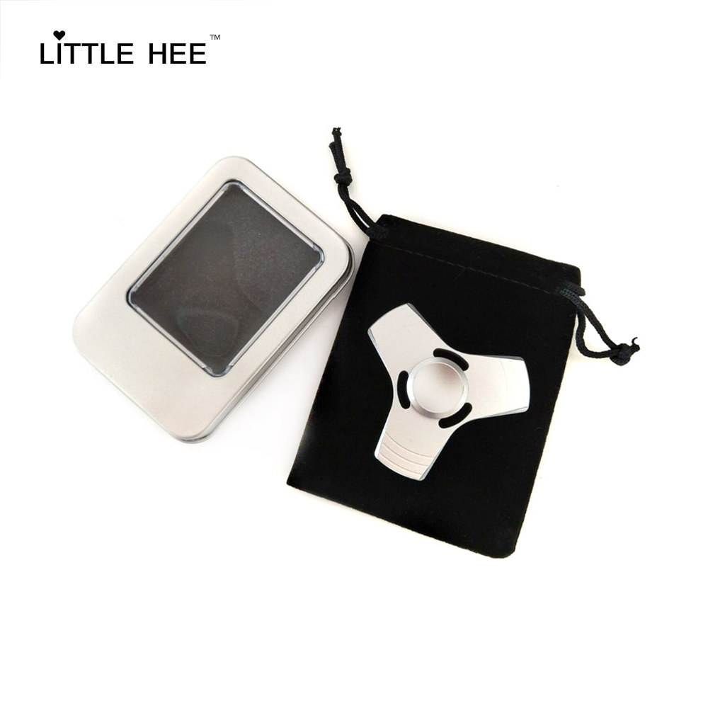 Hot Fidget Spinner High Quality Fast And Long Spinning 3 Blades Metal Hand Spinner Fidget Toys