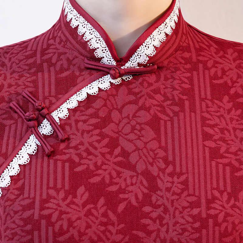 New Bông Ngắn Trung Quốc Phụ Nữ Truyền Thống Cái Yếm Cổ Điển Phương Đông Nữ Sườn Xám Mới Lạ Trung Quốc Trang Phục Chính Thức M L XL XXL 3XL