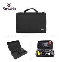 Go Pro Accessories Kit Big Size Collection EVA Tripod Selfie Stick Box For GoPro Hero 4
