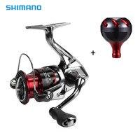 Shimano STRADIC CI4+ Spinning Reel with Extra Handle Knob 5.0:1/4.8:1 Gear Ratio 6+1BB X Ship HAGANE Gear Saltwater Fishing Reel