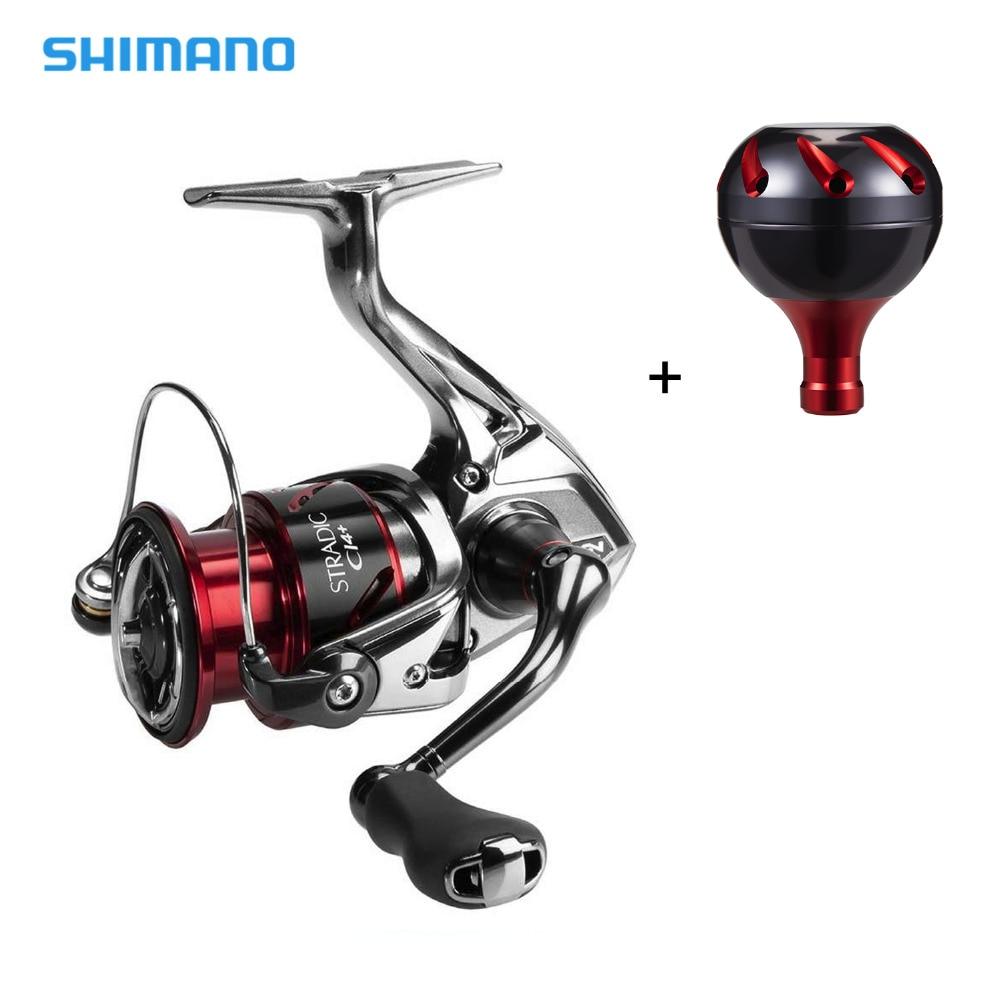 Shimano STRADIC CI4 + carrete giratorio con perilla de mango adicional 5,0: 1/4. 8:1 relación de engranaje 6 + 1BB X-barco HAGANE engranaje de agua salada carrete de pesca