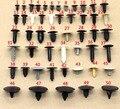 100 unids maletero de techo campana cubierta de plástico del sello cierre remache clips set para toyota honda nissan mazda mitsubishi lexus subaru
