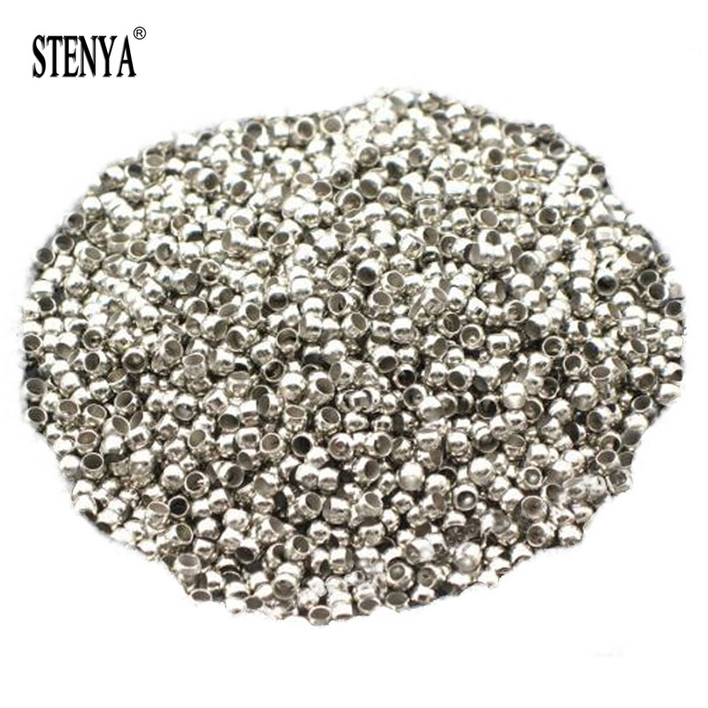 STENYA Bracelet Nylon Findings-Components Necklace Beads-Stopper Spacer-Bead Jewelry Making
