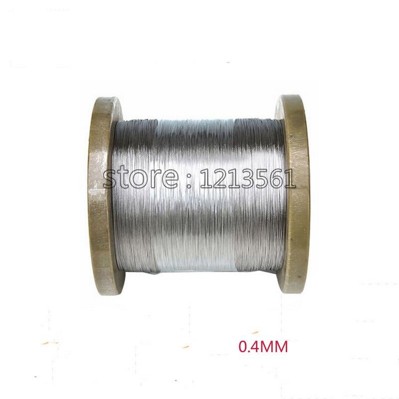 GemäßIgt 0,4mm 27 Gauge/0,4mm Ss Seetüchtig Gewinde Ausreichende Versorgung 316/316l Weichen Edelstahldraht